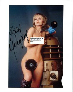 "Katy Manning ""Jo Grant"" Companion (Doctor Who) Genuine Autograph 10x8 11162"